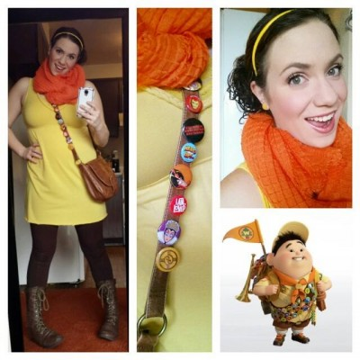 Brynne G. disney-bounding as Russell from Up!
