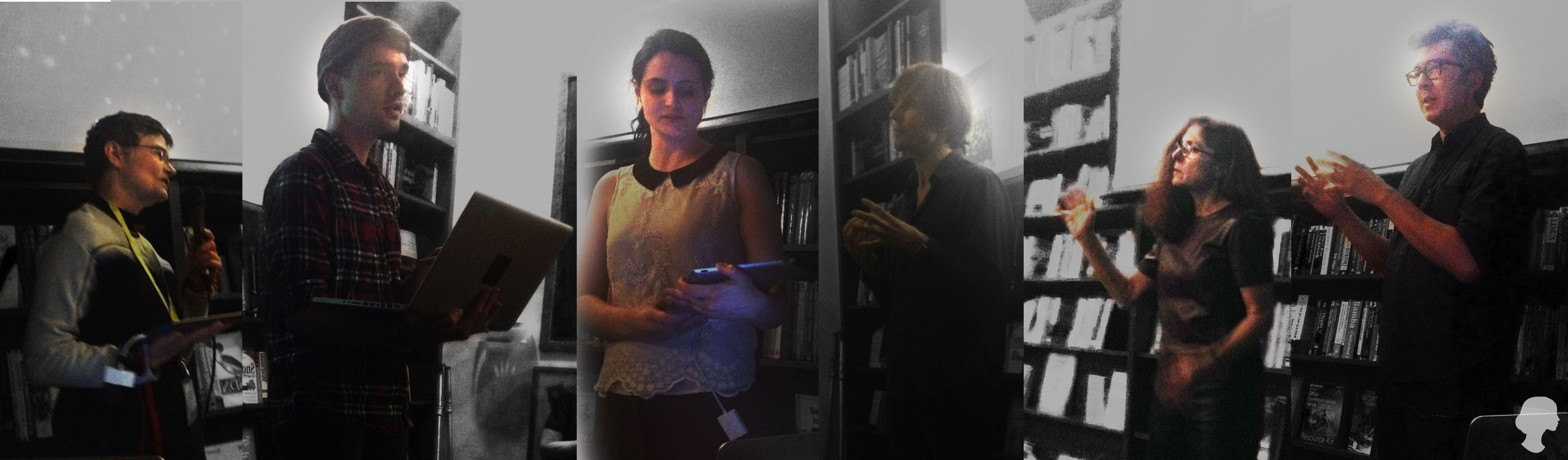 Readings of Interactive and New Media work by Members of the Electronic Literature Organization