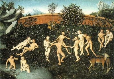 The Golden Age by Lucas Cranach the Elder.