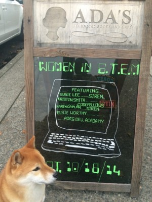 A-board approval from our favorite shiba.