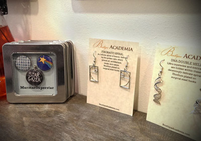 A peek at a few of the beautiful earrings we carry.