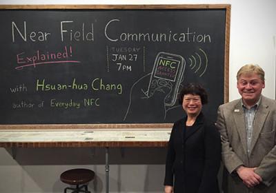 Presenters Hsuan-Hua and Karl Weaver.
