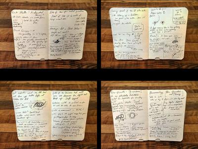 Notes taken during the conversation between Mack and Fleishman.