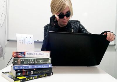 Hacking the Gibson Book Club moderator, Jen Power