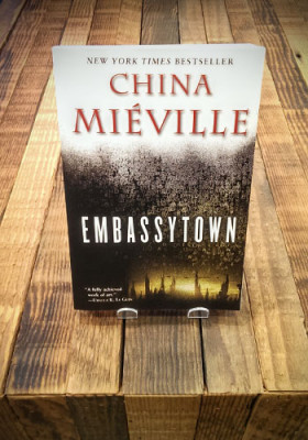 Embassytown by China Mieville.