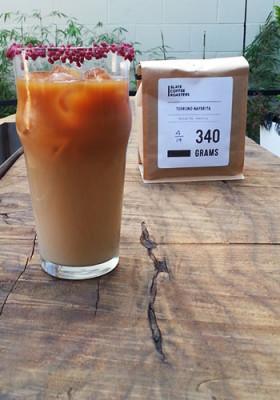 Ada's Signature Beverage: Nayarita Sling, featuring Slate Coffee Roaster's Terruno Nayarita