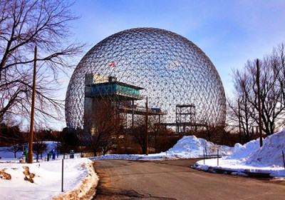"""Montreal Biosphere"" by Alex Faris - Own work. Licensed under CC BY-SA 3.0 via Wikimedia Commons - https://commons.wikimedia.org/wiki/File:Montreal_Biosphere.JPG#/media/File:Montreal_Biosphere.JPG"